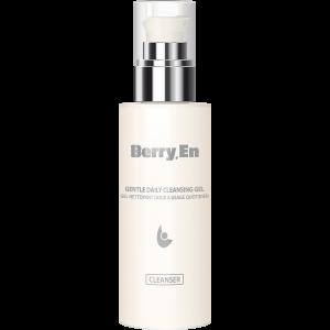 Viser en 125 ml cleanse fra Berry.En med dispenser, der fjerner urenheder og efterlader huden blød og lækker.