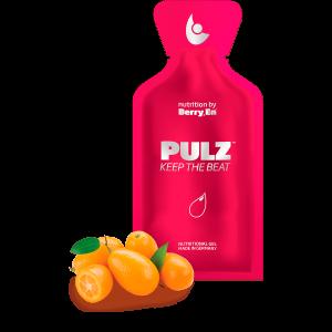 Hvis du døjer med dårligt blodomløb er det røde gel kosttilskud fra Berry.En for dig. Viser appelsin- og citronsaft og en gelpakke på 25g.